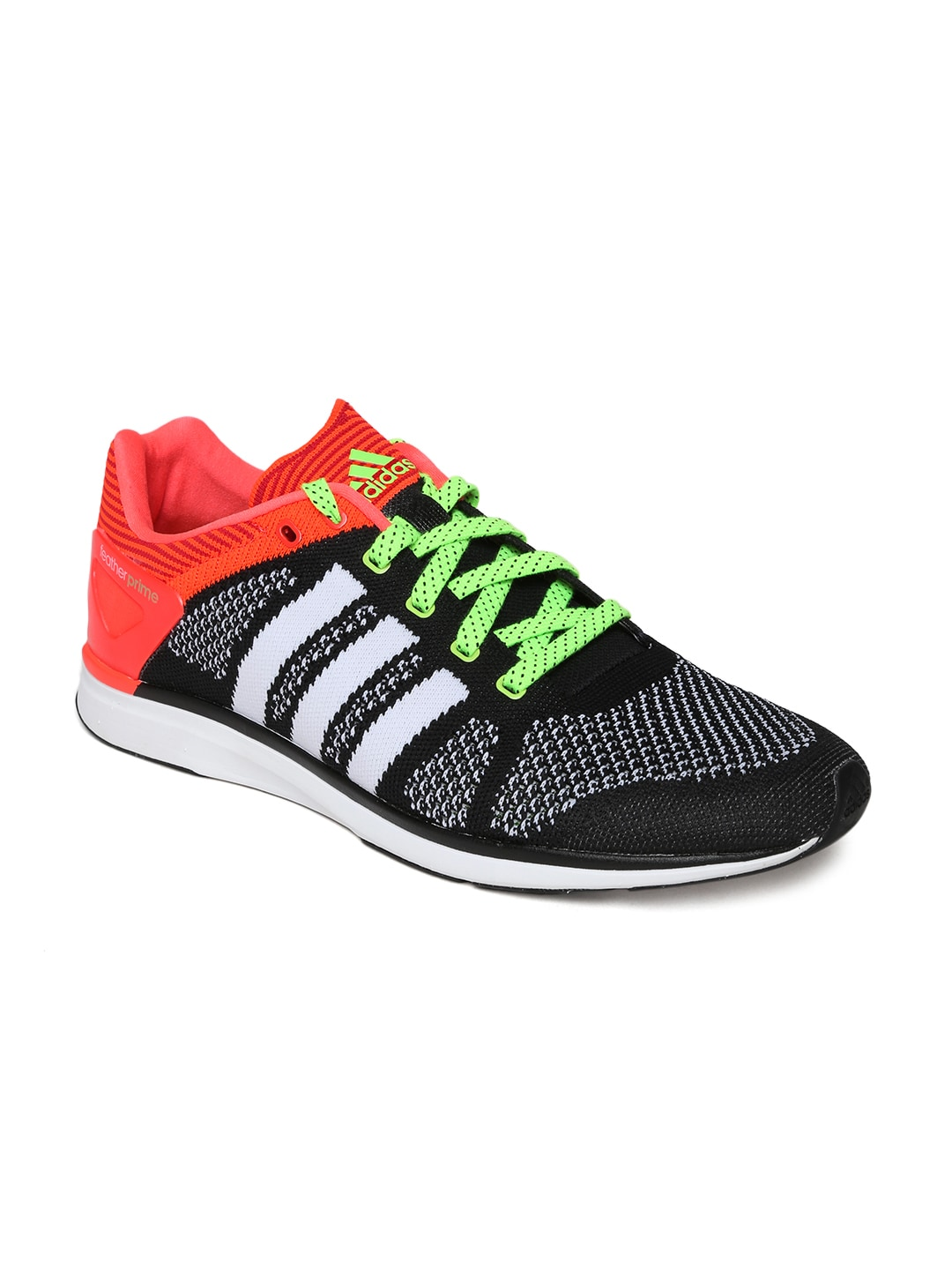 reputable site 0fd34 ebe37 Adidas m21201 Men Black White Adizero Feather Prime M Running Shoes- Price  in India