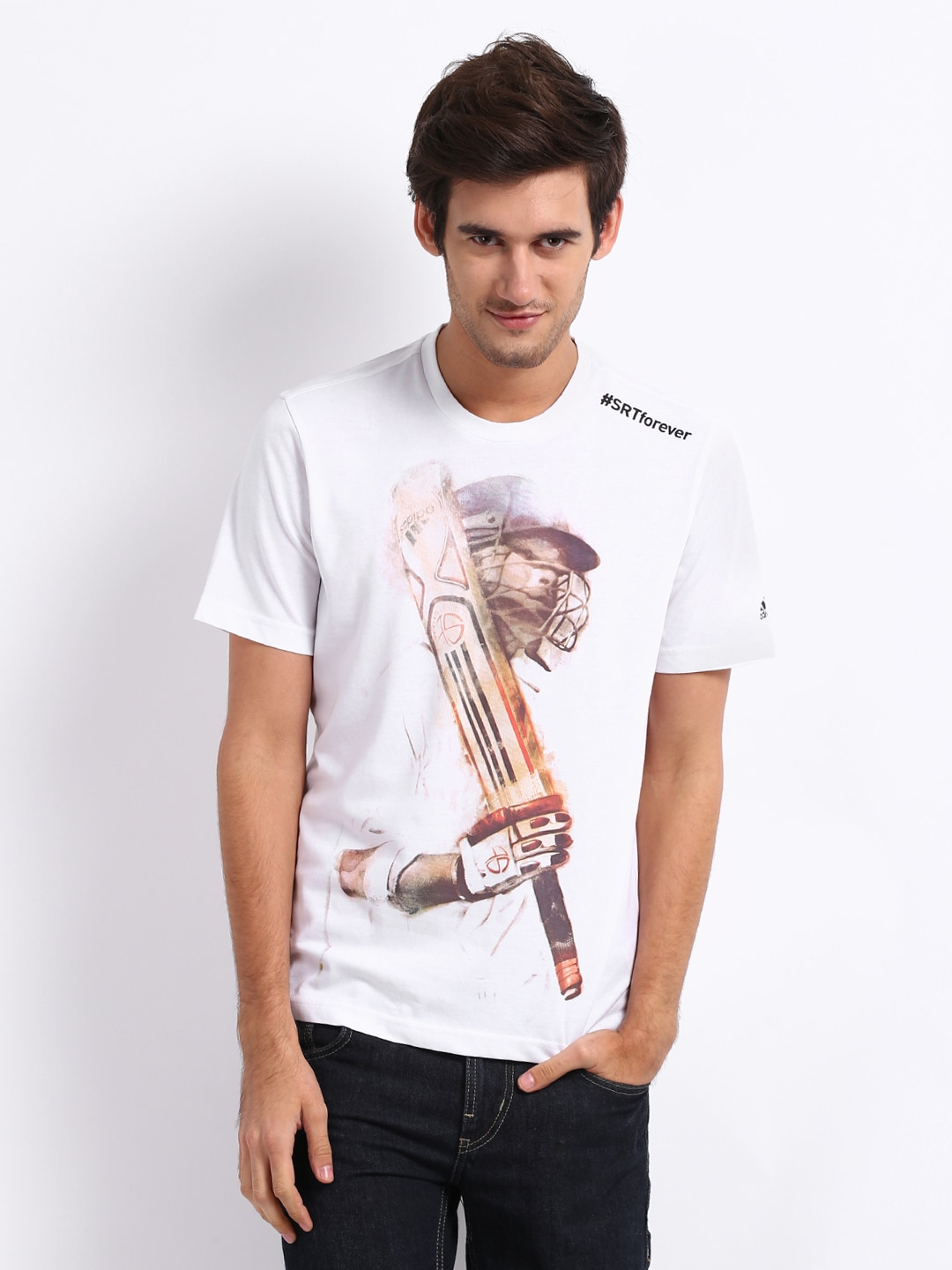 wholesale dealer 7c938 8669b Adidas T Shirts Online Sale In India