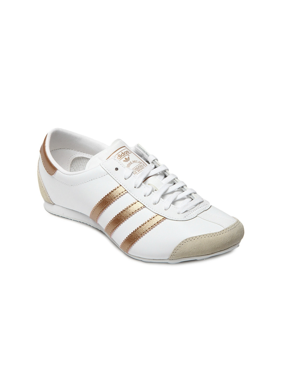 Adidas d65833 Originals Women White Aditrack W Casual Shoes- Price in India e0ff70592