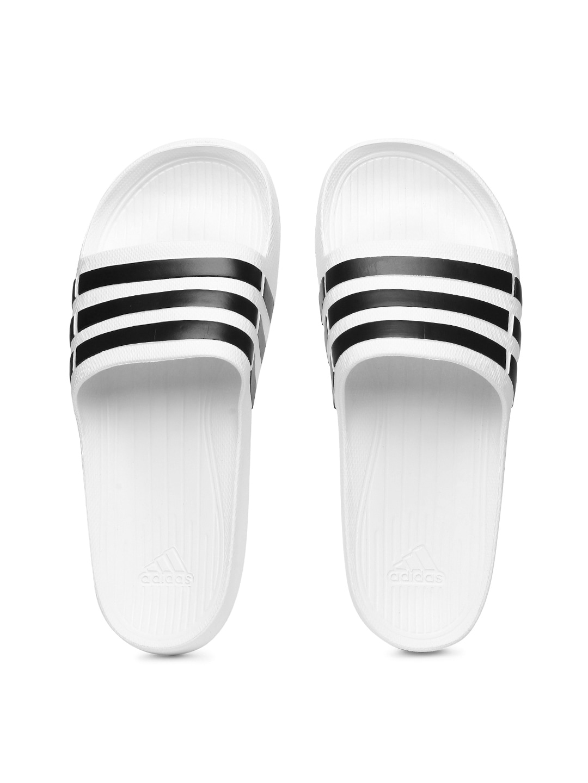 756ae0b2e205f Buy adidas white and green slides