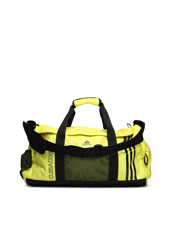 cf4692c2320 Adidas w63867 Unisex Fluorescent Yellow Gym Bag - Best Price in ...
