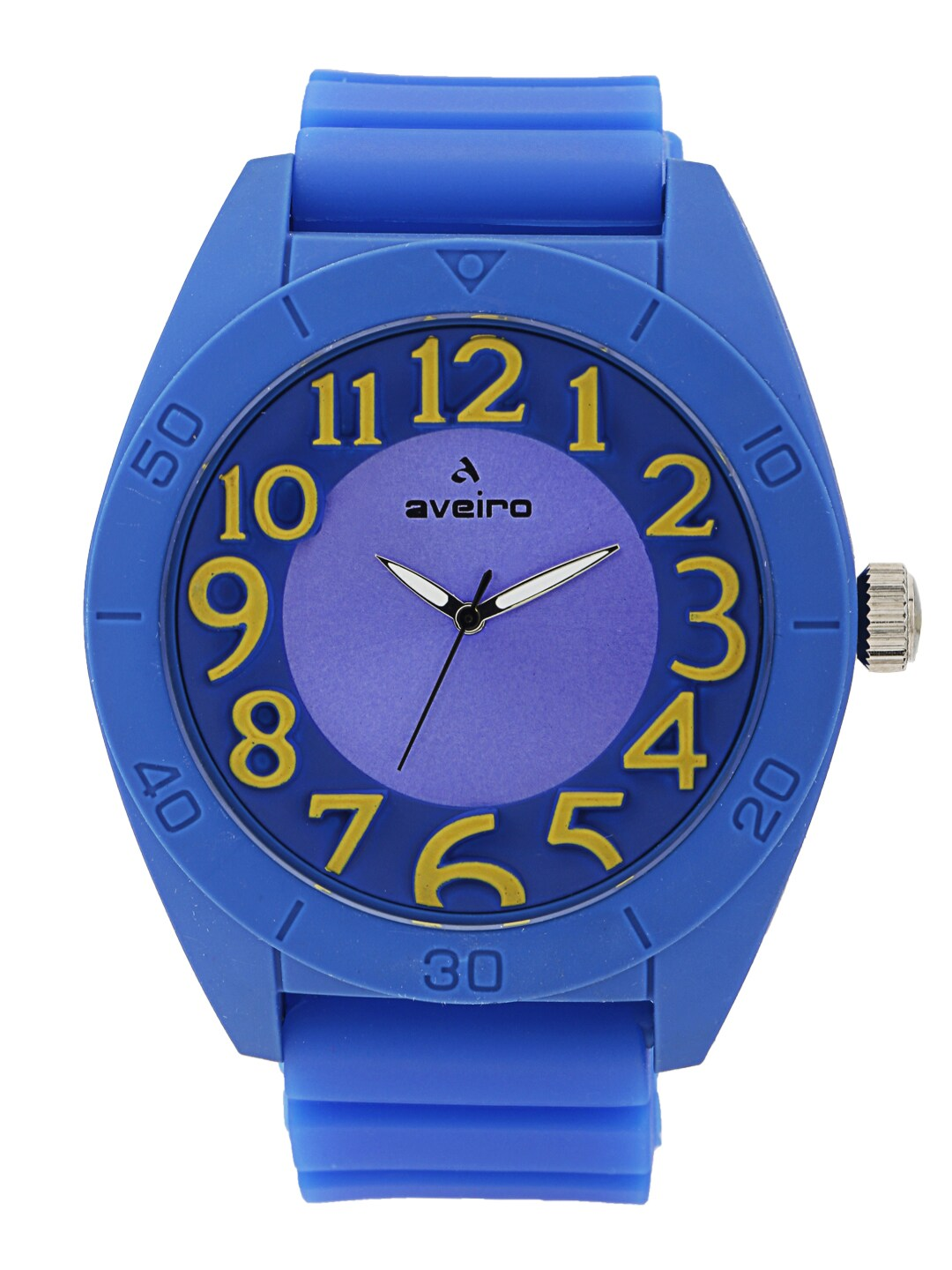 Aveiro Unisex Purple Dial Analogue Watch AV41SLBLU image