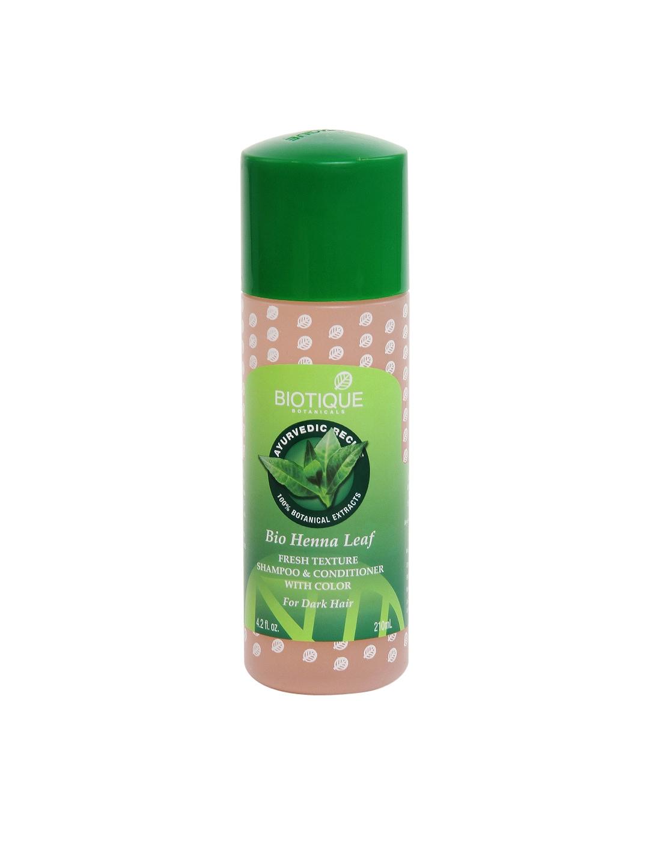 Biotique 8906009451428 Bio Henna Leaf Shampoo Conditioner With Color