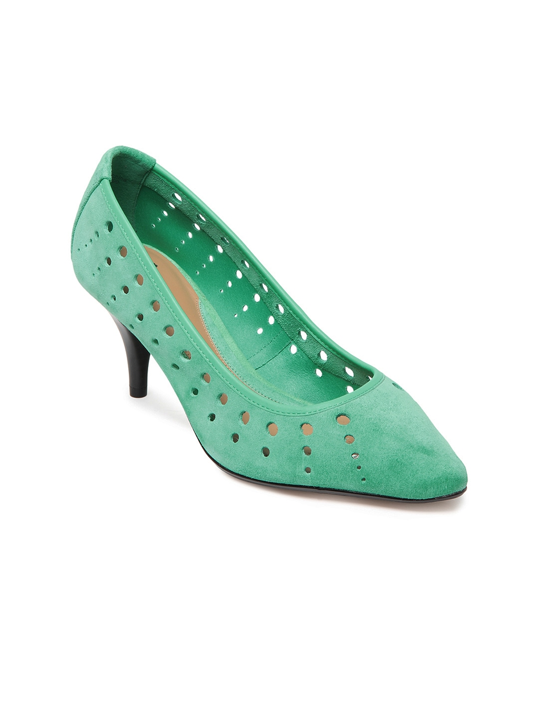 Clarks Women Green Ancient Myth Leather Heels image
