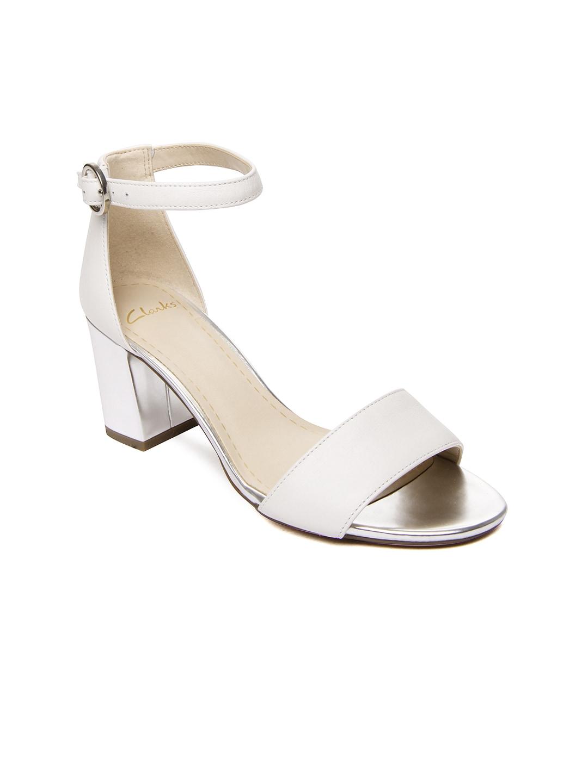 4bb64fbdc96 Clarks 91203577624 Women White Susie Deva Sandals - Best Price ...