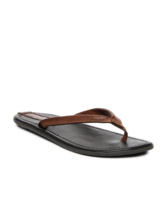 01700c55443 Estd 1977 4335 Men Brown Leather Sandals - Best Price in India ...