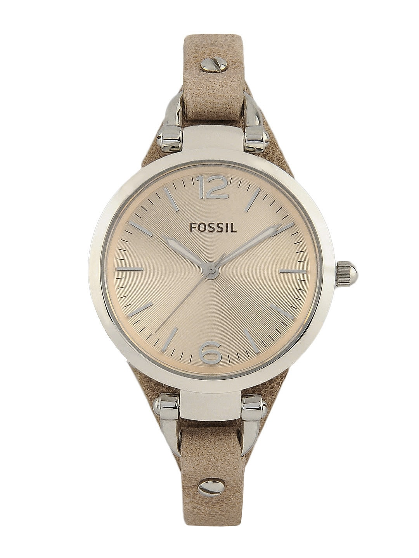 Fossil Women Beige Watch ES2830