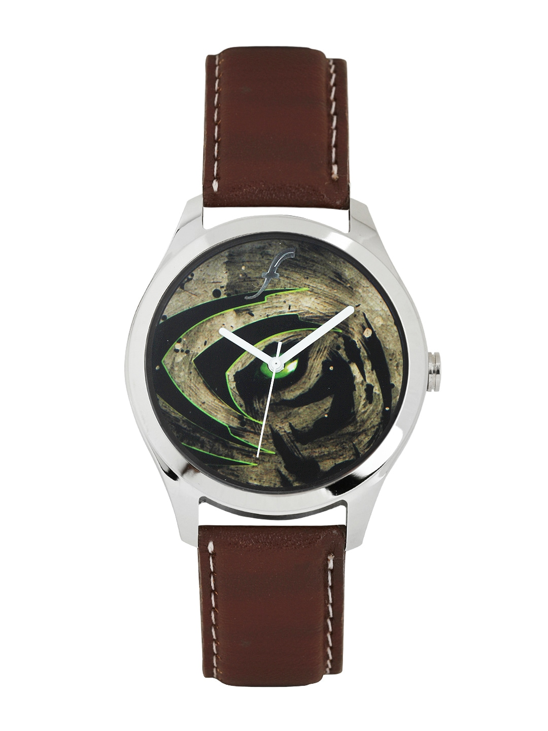 Fosters Men Multi-Coloured Printed Dial Watch image
