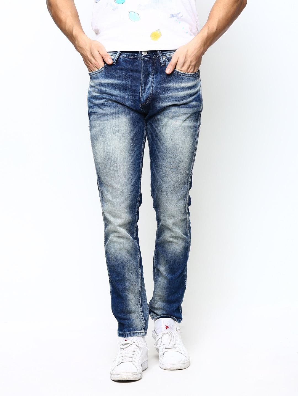 new products fashion style top fashion Jack and jones 1671629040 Jack Jones Men Blue Erik Anti Fit ...