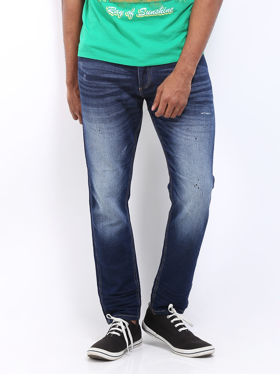 new high quality release date: info for Jack and jones 1573190003 Men Dark Blue Erik Anti Fit Jeans