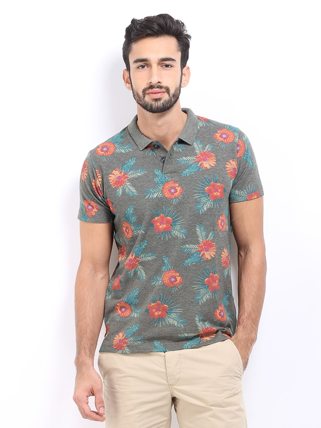 Jack and jones style code 1572864009 for Polo t shirts india