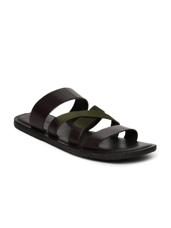 Jack & Jones Leather Sandal a8rLRPV5