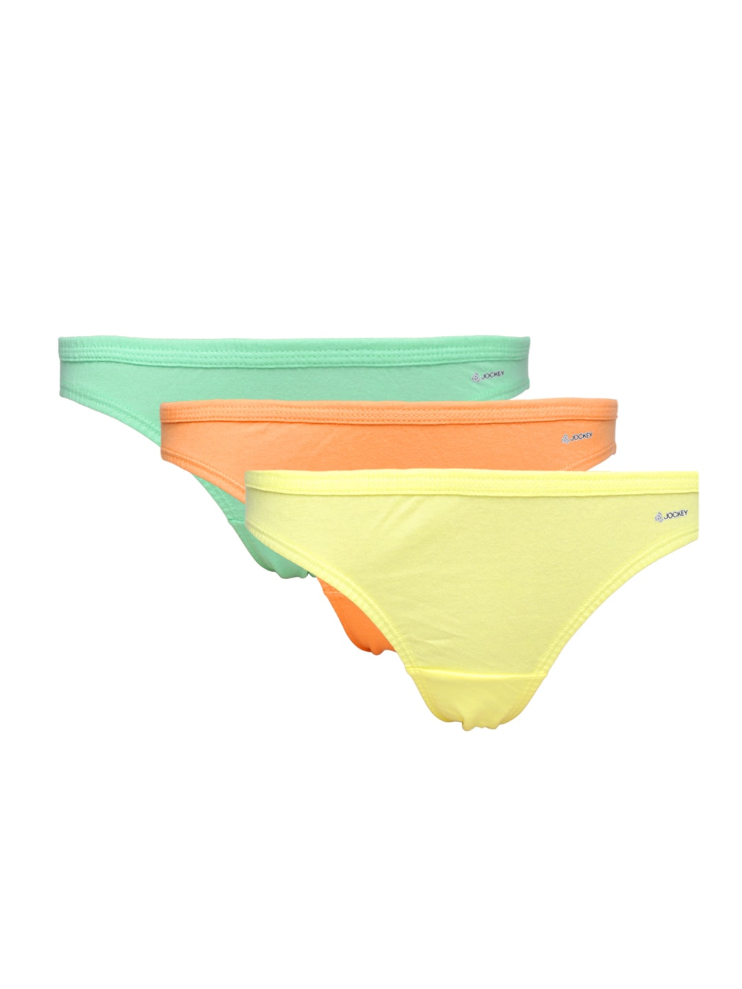 Jockey Women Multicoloured Set of 3 Bikini Briefs 1411-0310 image