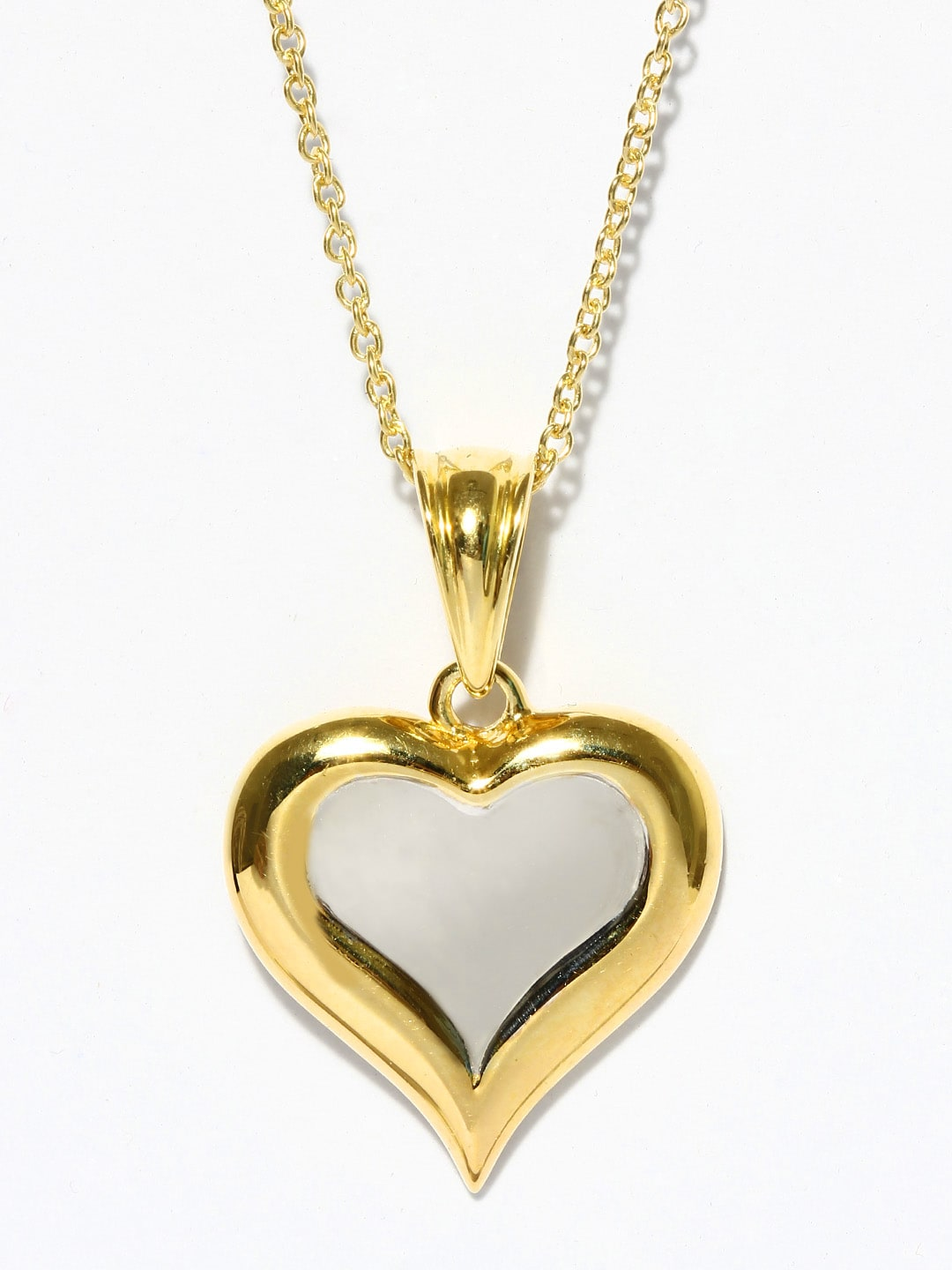 shaped heart jewellery ps pendant