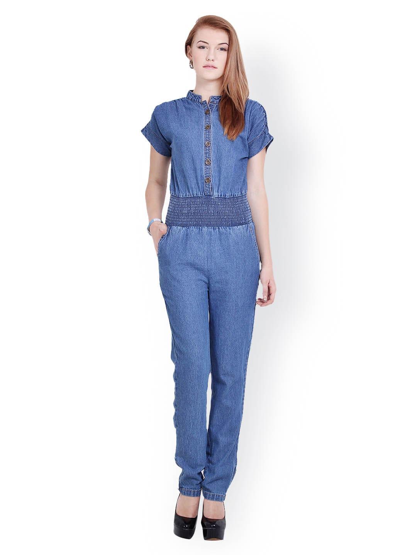 205f6d0f0f4 La arista bbaplar1623 Women Blue Denim Jumpsuit - Best Price in ...