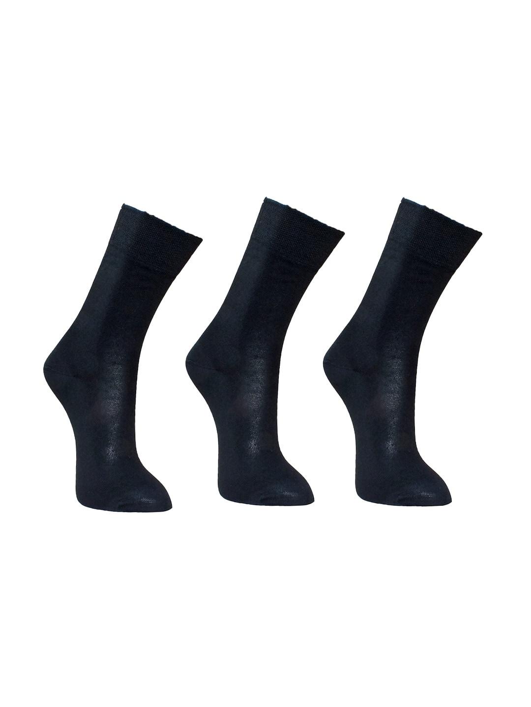 b88966b7a06 Buy Supersox Men Pack Of 3 Black Patterned Above Ankle Length Socks ...