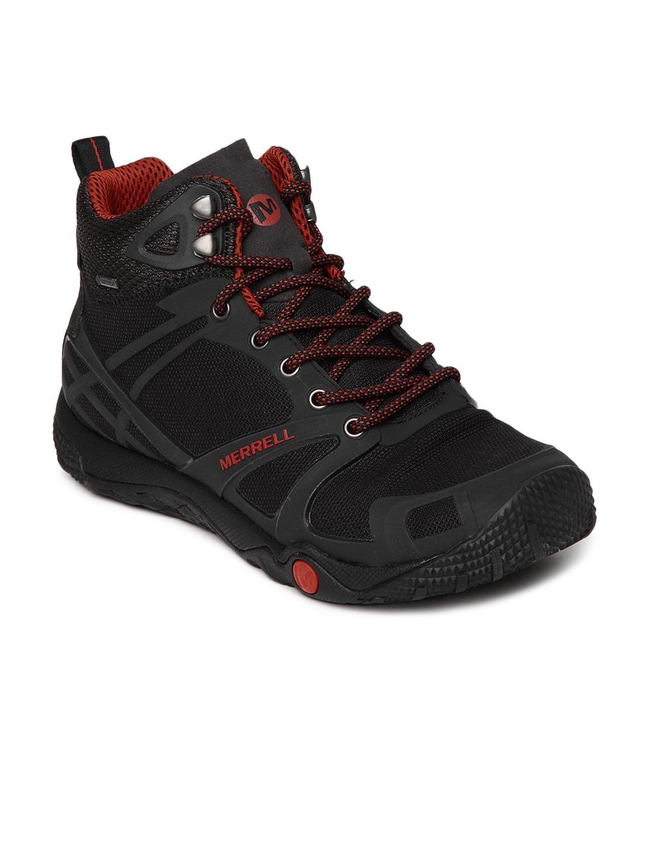 7f51e284 Merrell j41875 Men Black Proterra Mid Sport Gore Tex Sports Shoes ...