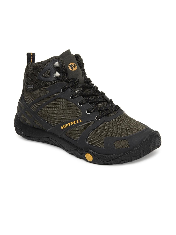 1b2970c4 Merrell j41879 Men Green Proterra Mid Sport Gore Tex Sports Shoes ...
