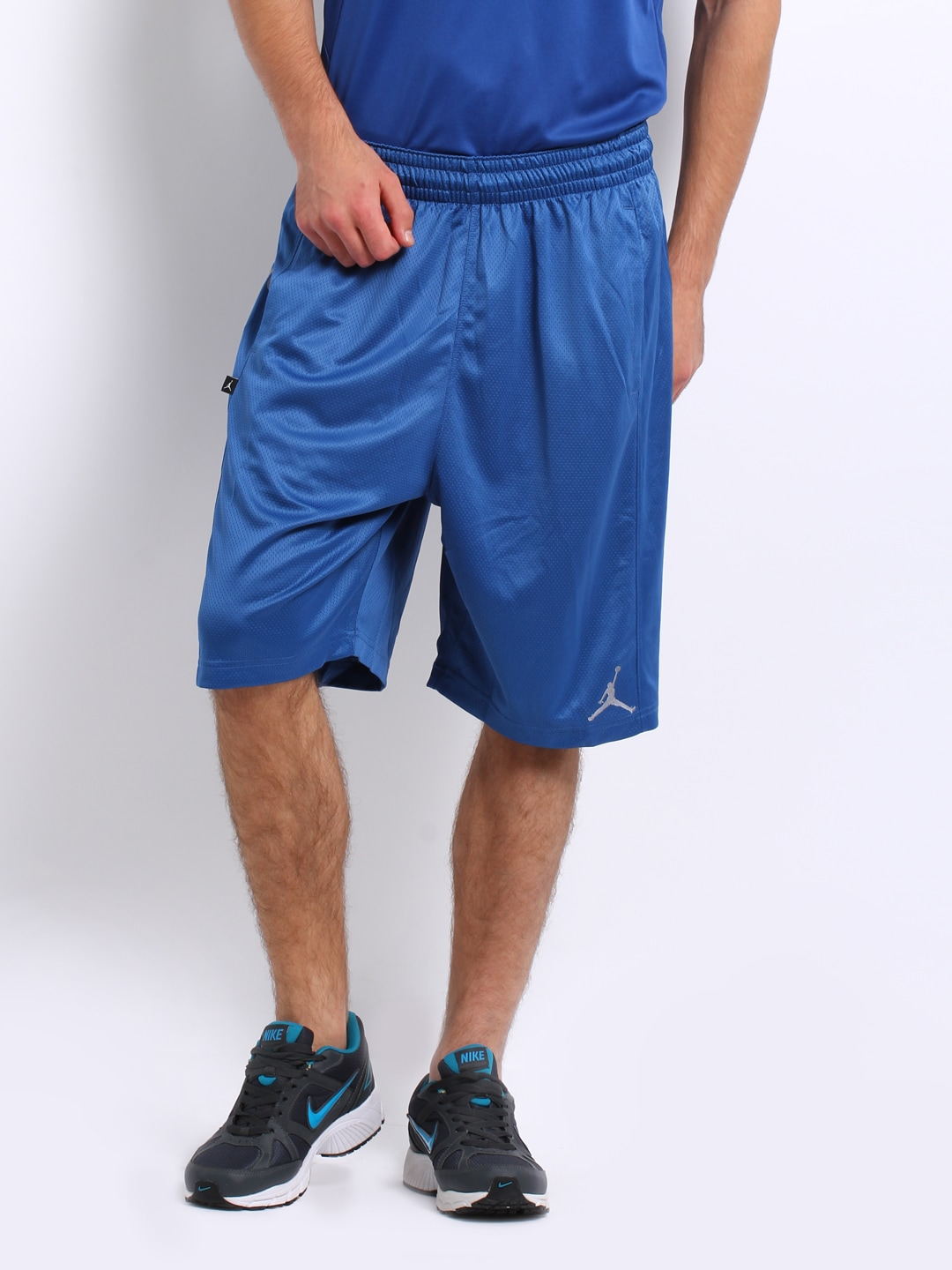 bc2bef831557 Nike 534820-434 Men Blue Air Jordan Bright Light Basketball Shorts ...