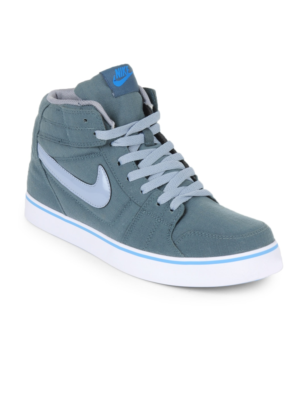 Nike 487680-402 Men Grey Liteforce Mid Casual Shoes- Price in India
