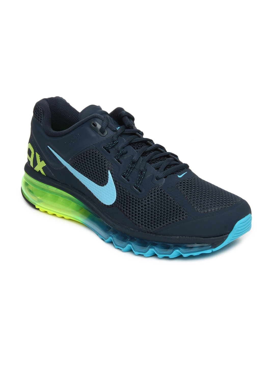 size 40 924ec 77014 Nike 554886-447 Men Navy Air Max+ 2013 Sports Shoes- Price in India