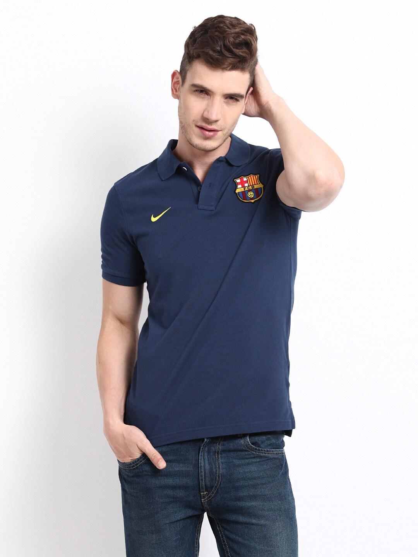 Fcb Men Polo Shirt Navy Nike Barcelona T Best 542385 410 In Price 8qIInEY