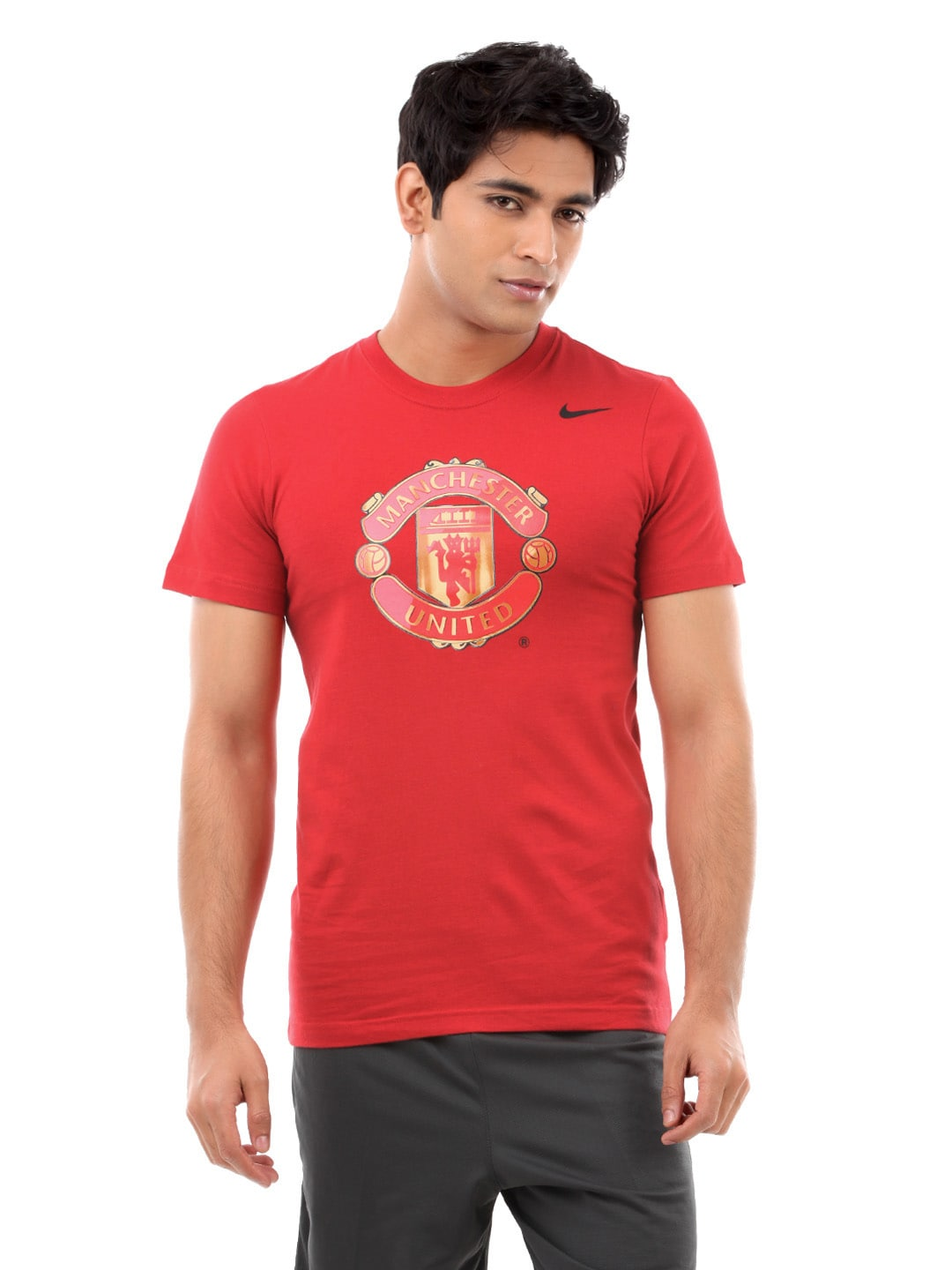 0d31a302016 Nike 611031-624 Men Red Manchester United Home Jersey - Best Price ...