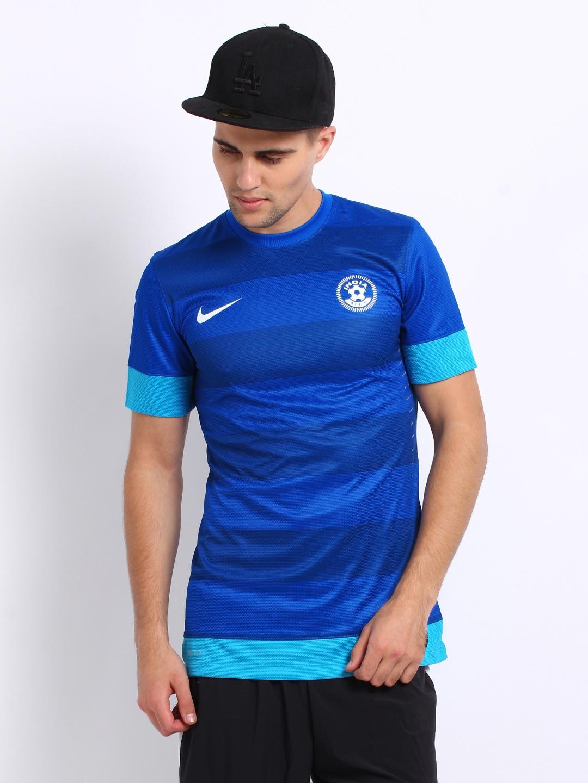 b126c1593 Nike 507877-490 Men Sapphire Blue Aiff Jersey - Best Price in India ...