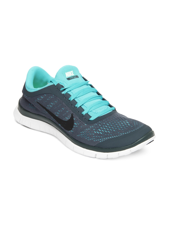 timeless design 43c4e 2f5cb Nike 580393-441 Men Grey Free 3 0 V5 Sports Shoes- Price in India