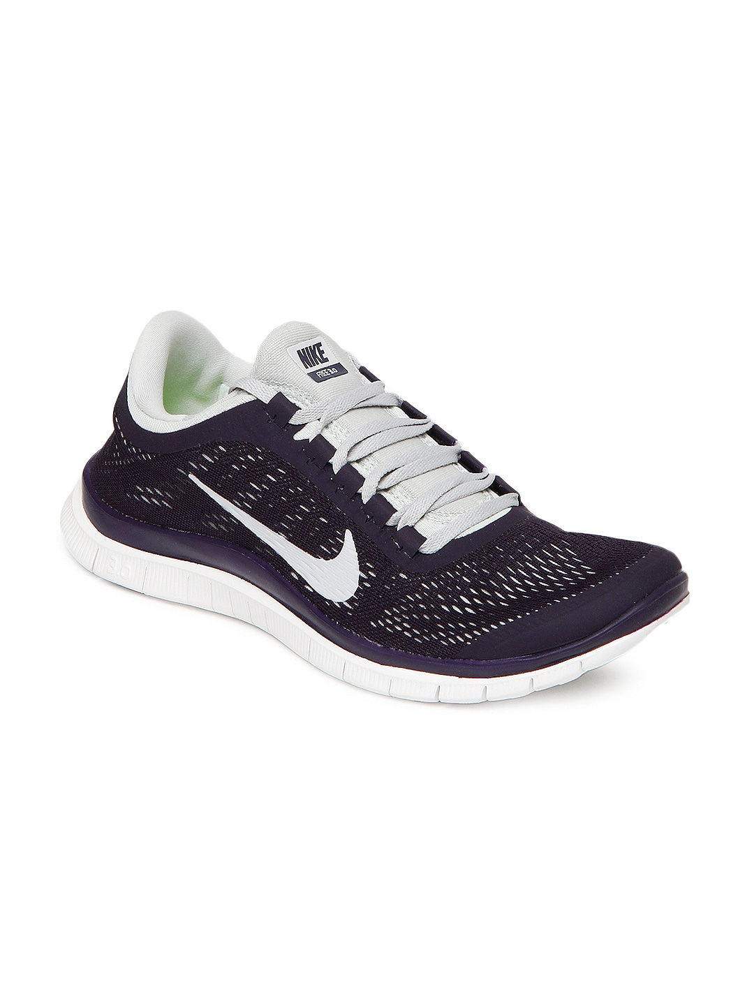 finest selection 2a21d 1307d Nike 580393-501 Men Purple And Grey Free 3 0 V5 Sports Shoes- Price in India