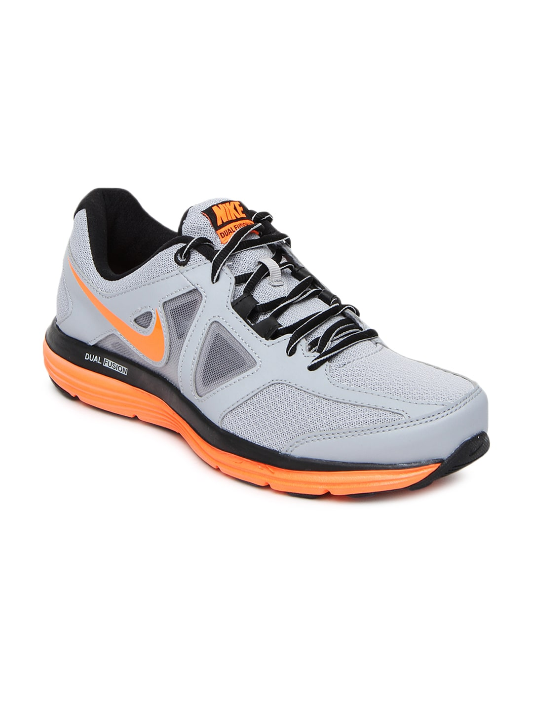 Nike 642821-004 Men Grey Dual Fusion Lite 2 Msl Sports Shoes- Price in India