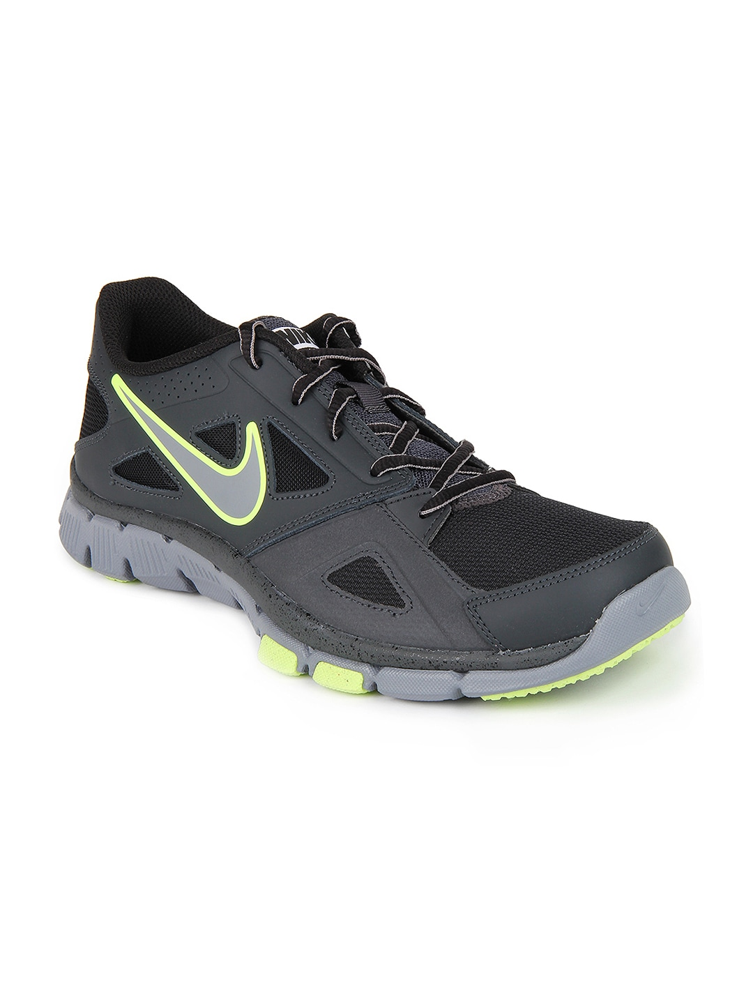 1ce440861f94 Nike 599558-017 Men Grey And Black Flex Supreme Tr 2 Sports Shoes- Price in  India