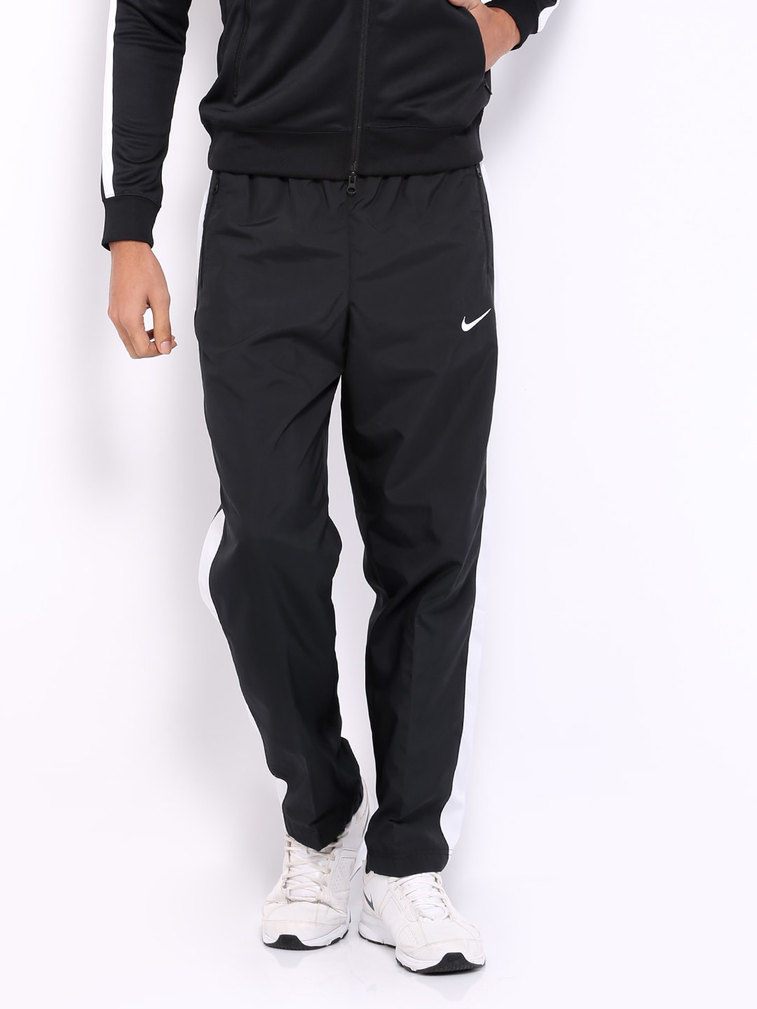 a3948f8f4ad3 Nike 637783-010 Men Black Track Pants - Best Price in India