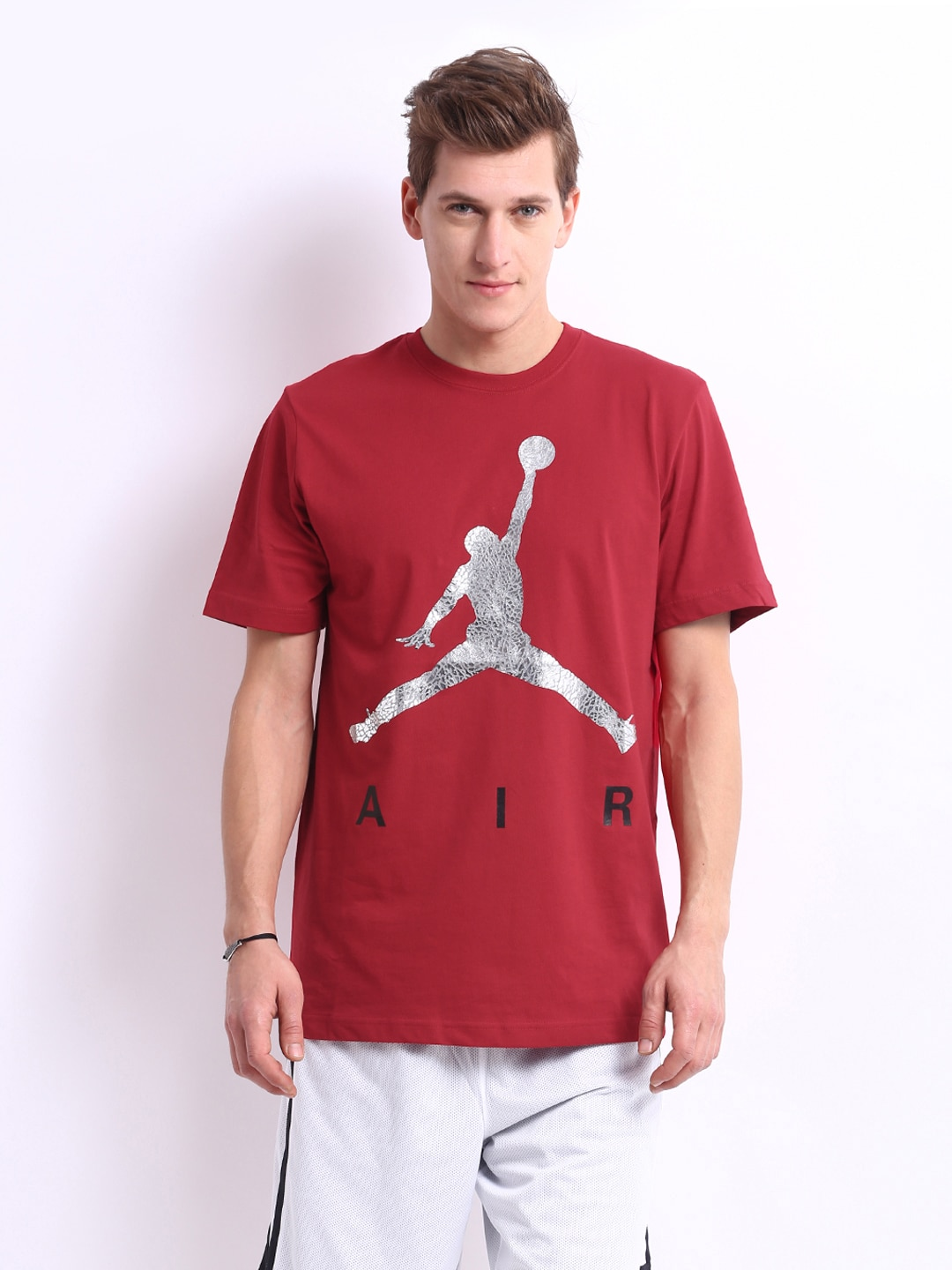 7742e4f1 Nike 576794-695 Men Red Jordan T Shirt - Best Price in India | priceiq.in