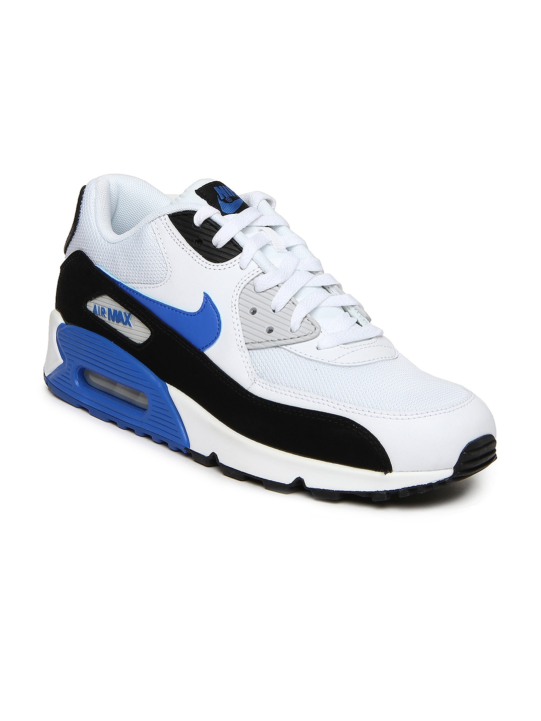 size 40 56dd5 cea71 Nike 537384-115 Men White Air Max 90 Essential Sports Shoes ...