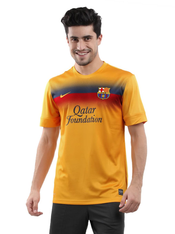 20862e398b2 Nike 518614-720 Men Yellow Fcb Prematch Jersey - Best Price in ...