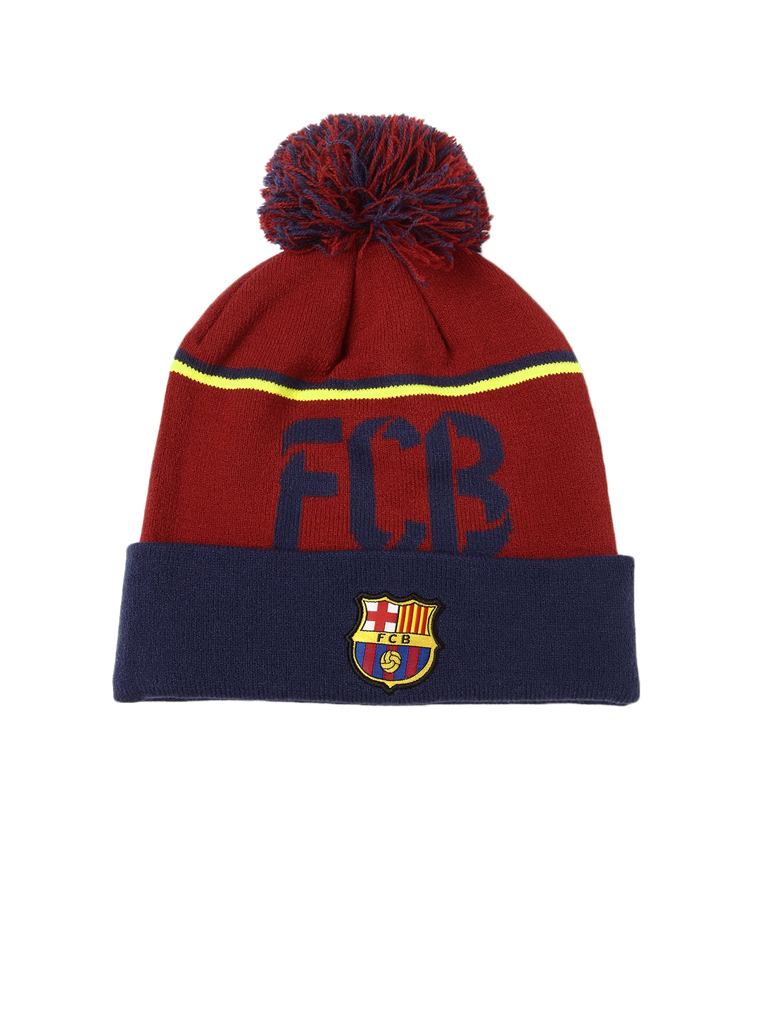 Nike 576995-647 Unisex Maroon Fcb Beanie Cap - Best Price in India ... d63ae378843