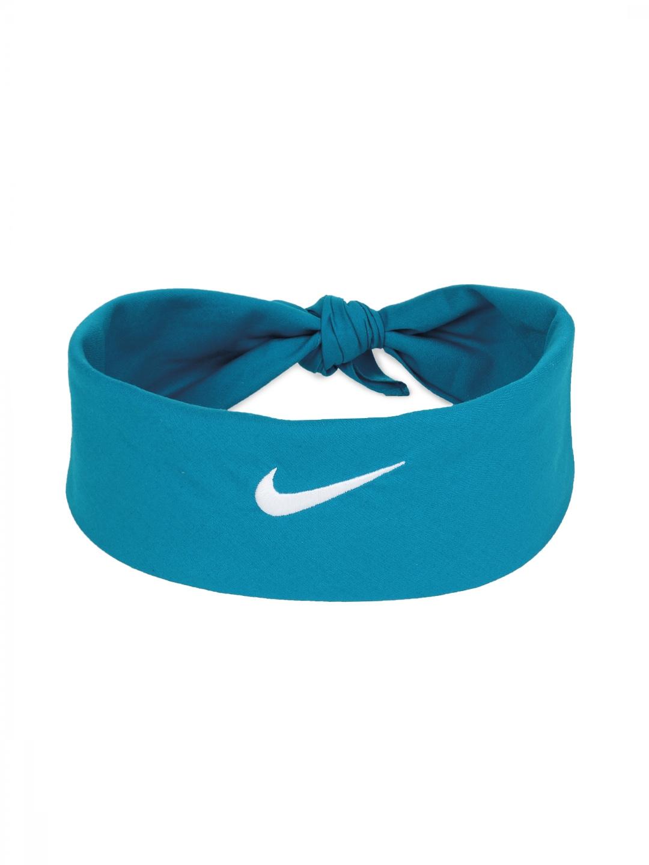 Nike 411317-422 Unisex Blue Tennis Swoosh Bandana - Best Price in ... 9f326b48695