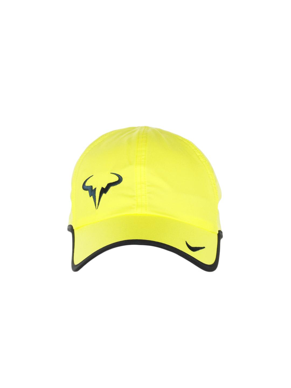 01f9b52d49ae2 Nike 398224-700 Unisex Yellow Rafa Nadal Bull Logo Cap- Price in India