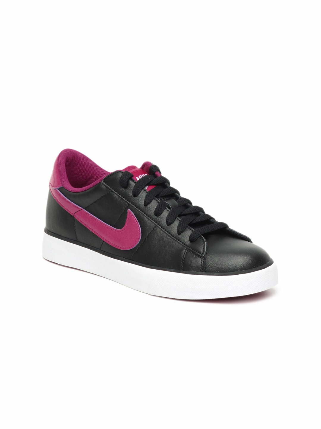 680df22c3 Nike 354496-015 Women Black Sweet Classic Leather Shoes- Price in India
