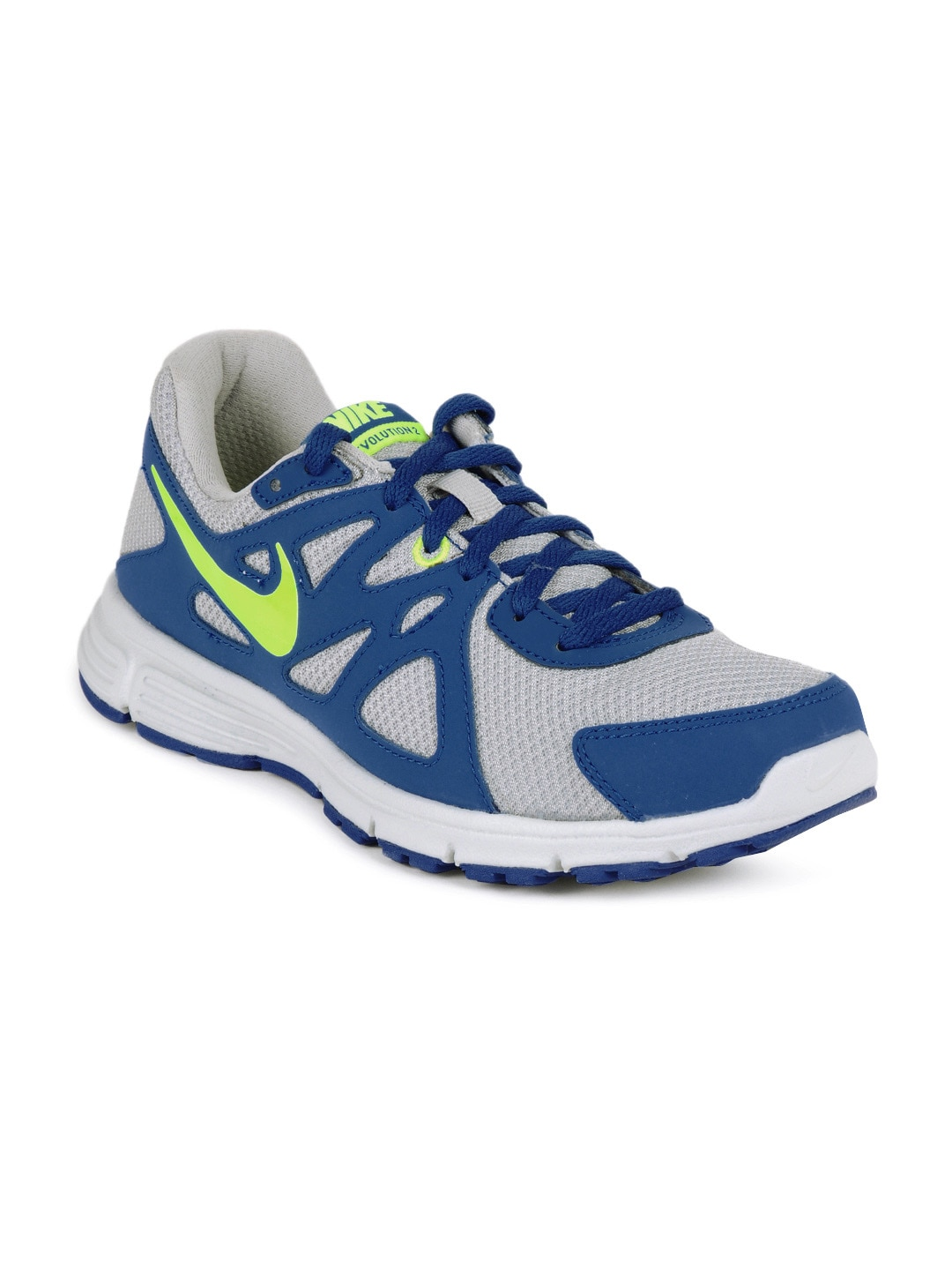 df5cc2623a28c0 Nike 555082-003 Kids Grey And Blue Revolution 2 Gs Sports Shoes- Price in  India