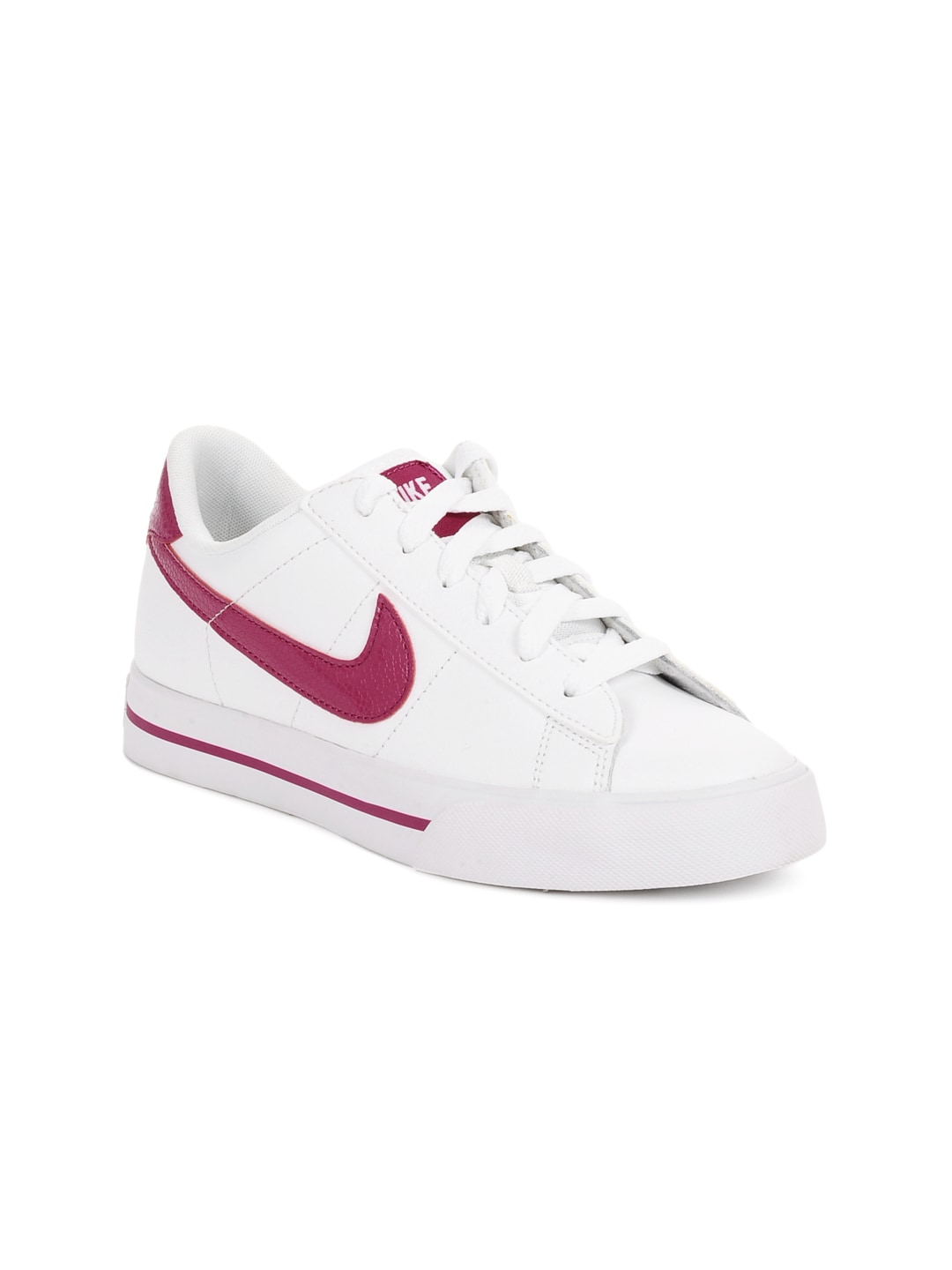 9dc5ee0e1 Nike 354496-129 Women White Sweet Classic Leather Shoes- Price in India