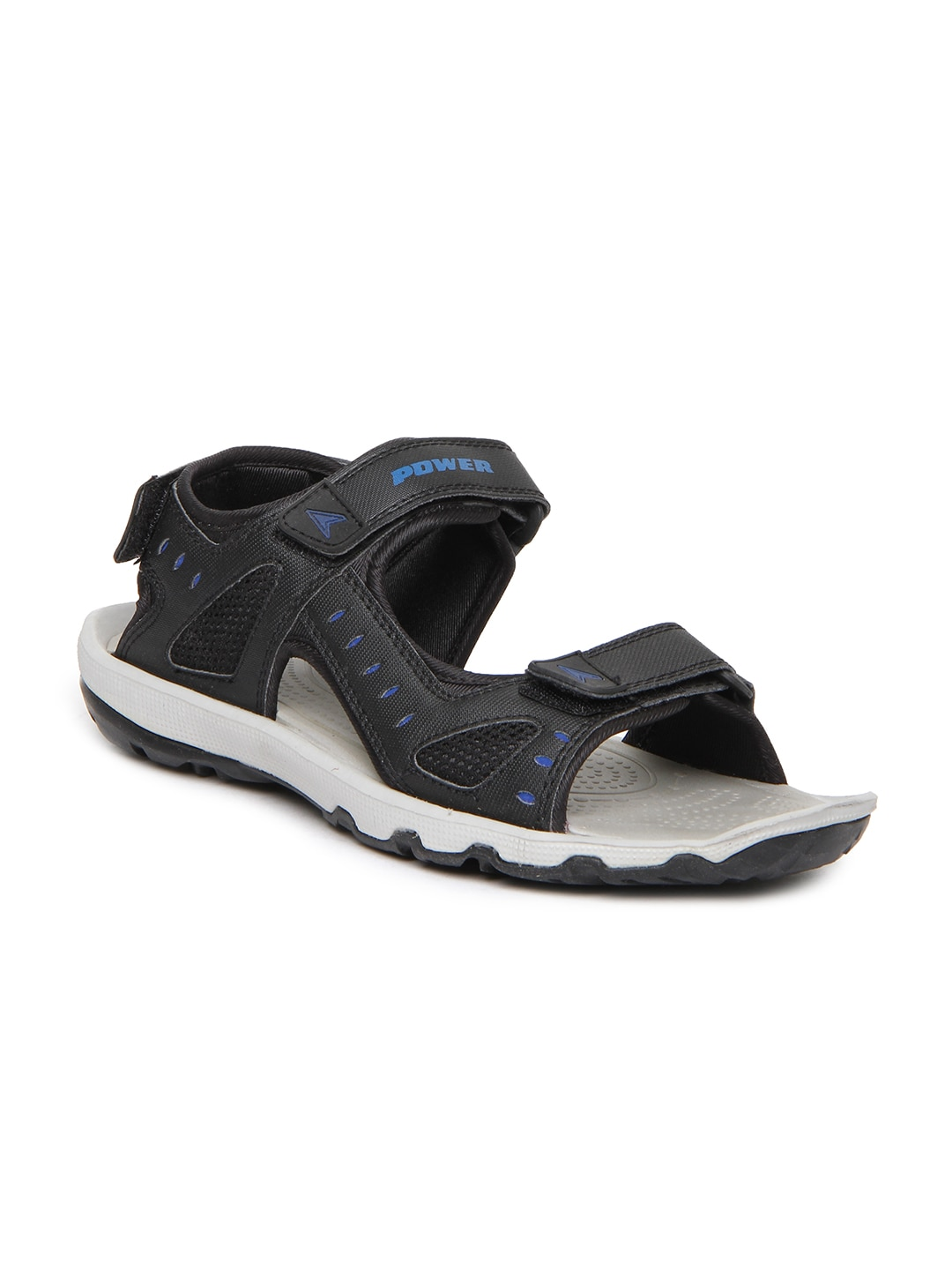 8f570dbd0a1 Power 8616134 Men Black Motive Sports Sandals - Best Price in India ...