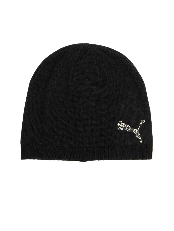 Puma 84327901 Men Black Karen Beanie Skull Cap - Best Price in ... d2de644a97f