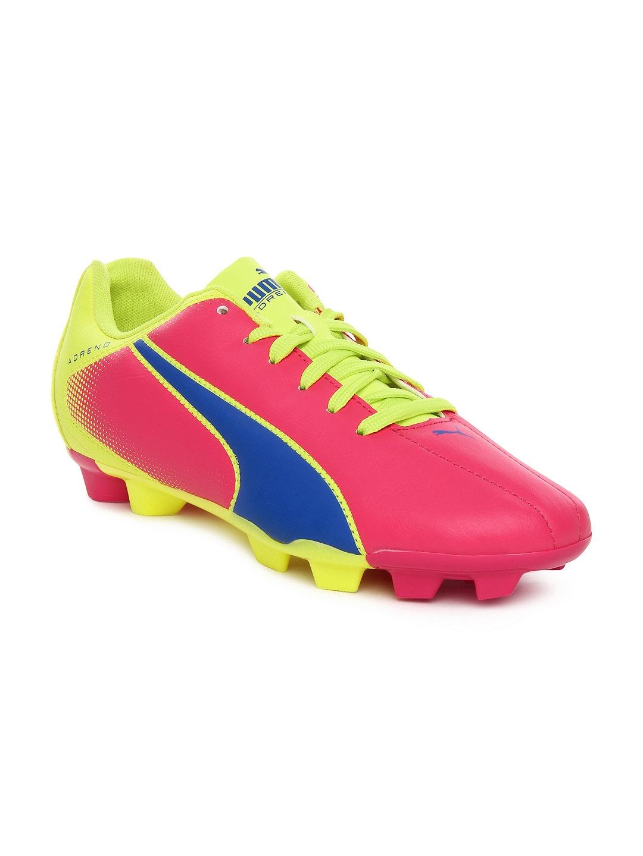 puma football shoes on myntra