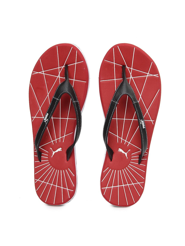 a6c9323a7c0354 Puma 18751803 Men Red And Black Webster Ind Flip Flops- Price in India