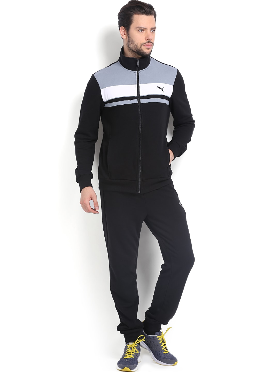 a761e5af2760 Puma 83282349 Men Black Tracksuit - Best Price in India