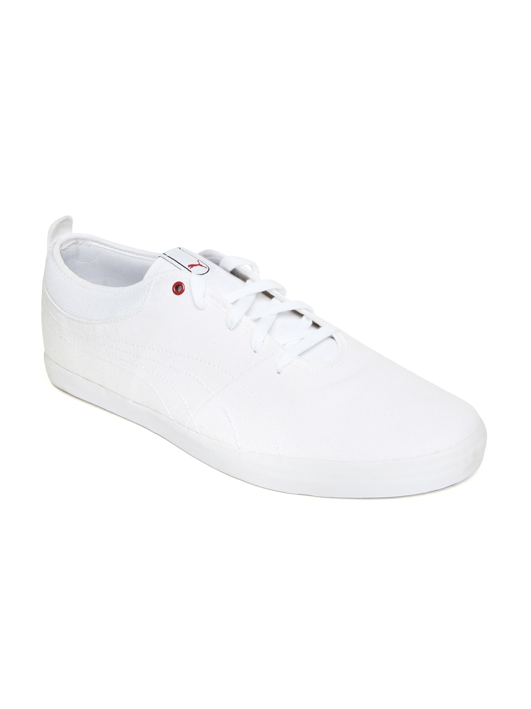 70ee27273b5 Puma 35460505 Men White Elsu Canvas Casual Shoes - Best Price in ...