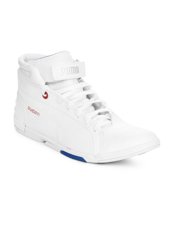 d165f88cf3d Puma 30422502 Men White Xelerate Mid Ducati Shoes- Price in India. puma- style code- 30422502