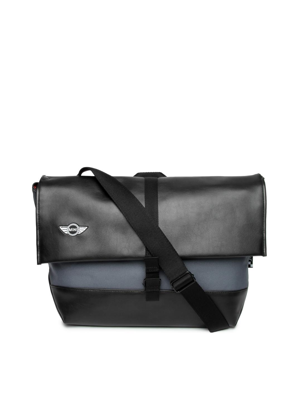 Puma 7226501 Unisex Black And Grey Mini Lifestyle Messenger Bag- Price in  India 6fb2dd62432e5